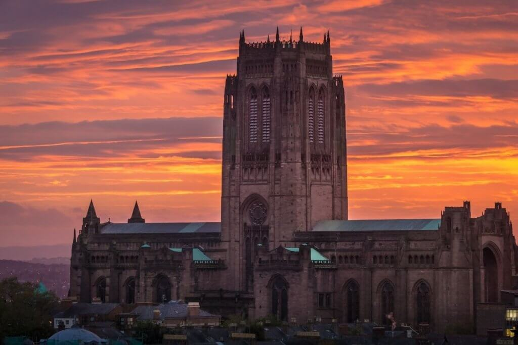 Liverpool Anglican Cathedral offers free entry to visitors throughout the year