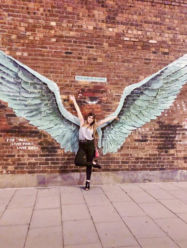 Liverpool Liver Bird Wings