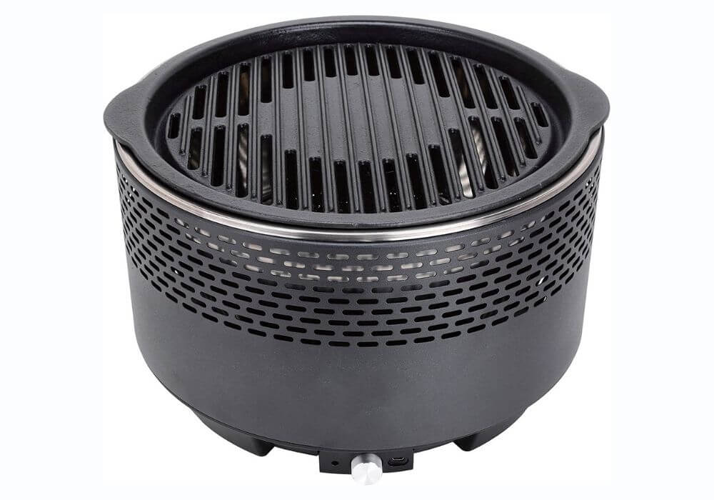 MP Essential Black Portable Charcoal Barbecue