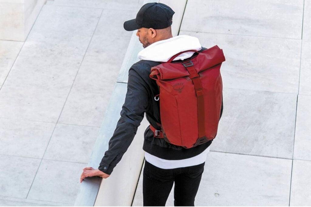 Osprey Transporter Roll Top Canvas Backpack