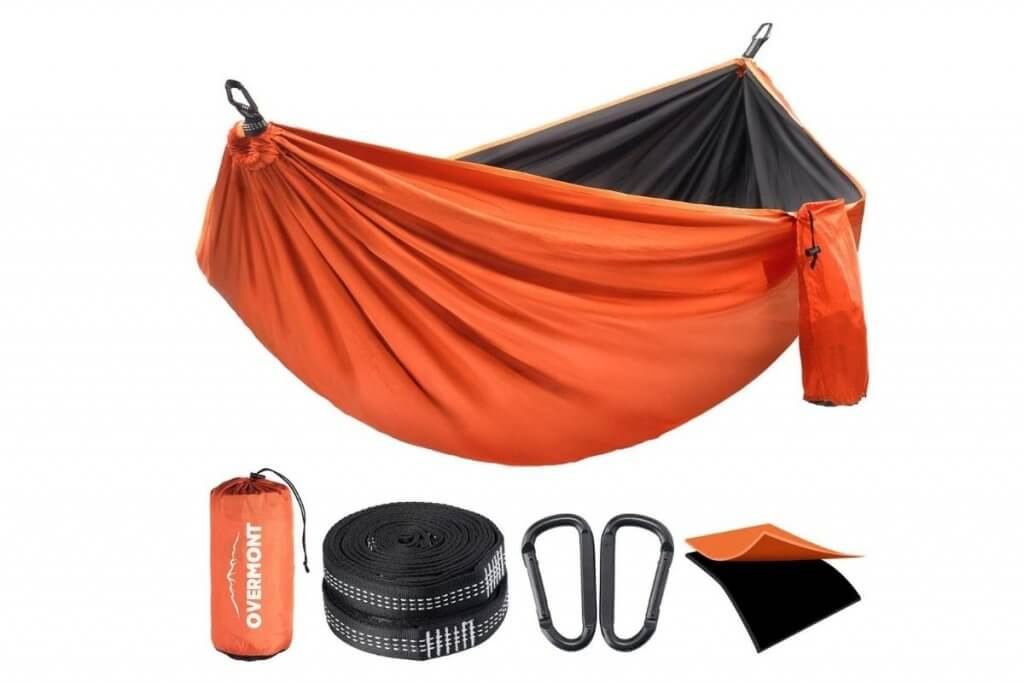 Overmont hammock for camping and hiking