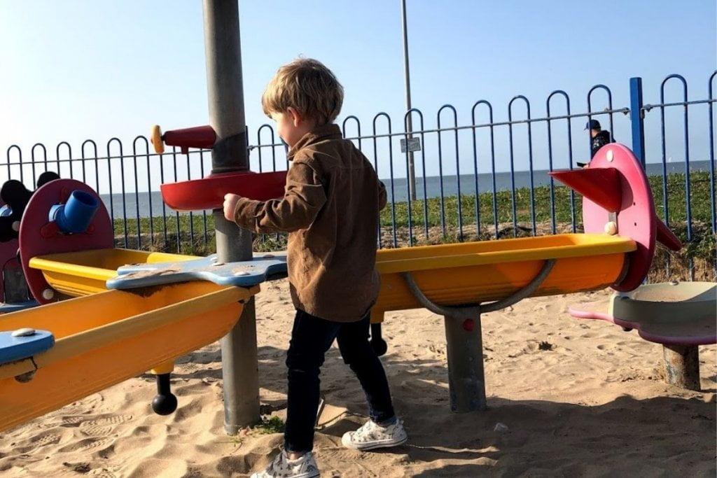 Rhyl Beach Playground