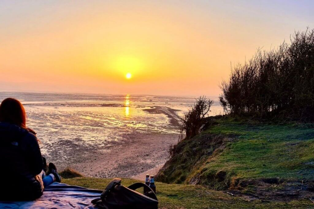Thurstaston Shore Wirral Camping & Caravan Sites