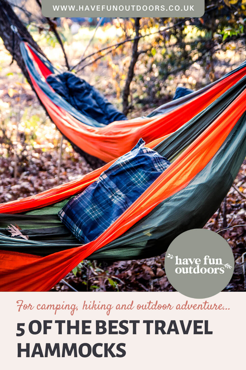 Best Travel Hammocks for Camping, Hiking and Outdoor Adventure