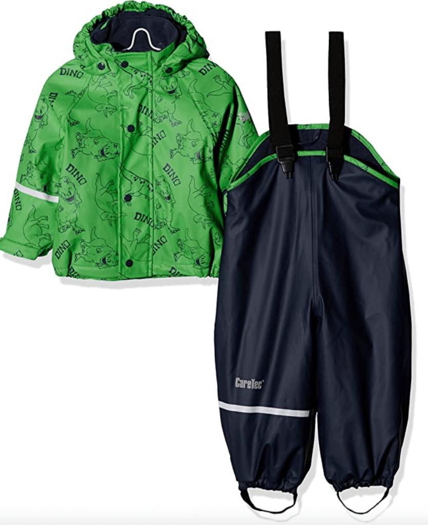 CareTec Unisex Kid's Raincoat For Forest School