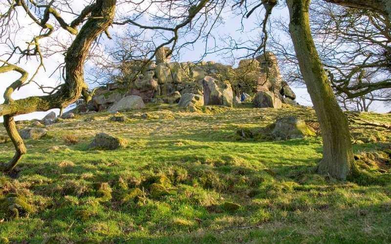Robin Hood's Stride in the Peak District