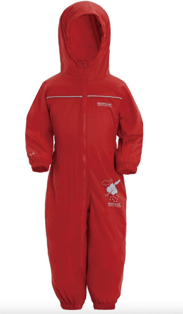 Regatta Kids Puddle II Waterproof Forest School Romper Suit