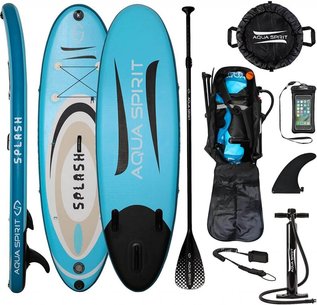 Aqua Spirit Stand Up Inflatable Paddle Board