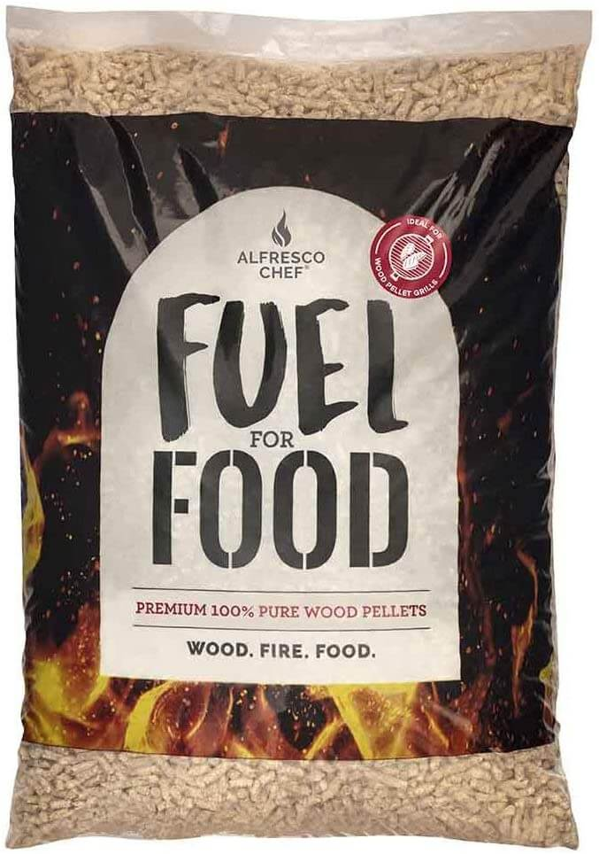 Alfresco Chef Pure Wood Apple Pellets For Pizza Ovens