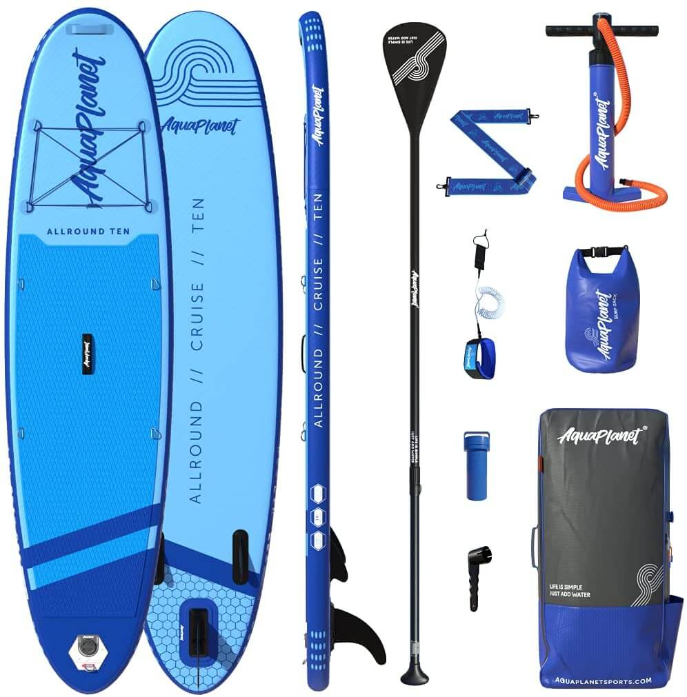 Aquaplanet Allround Ten Stand Up Inflatable Paddle Board