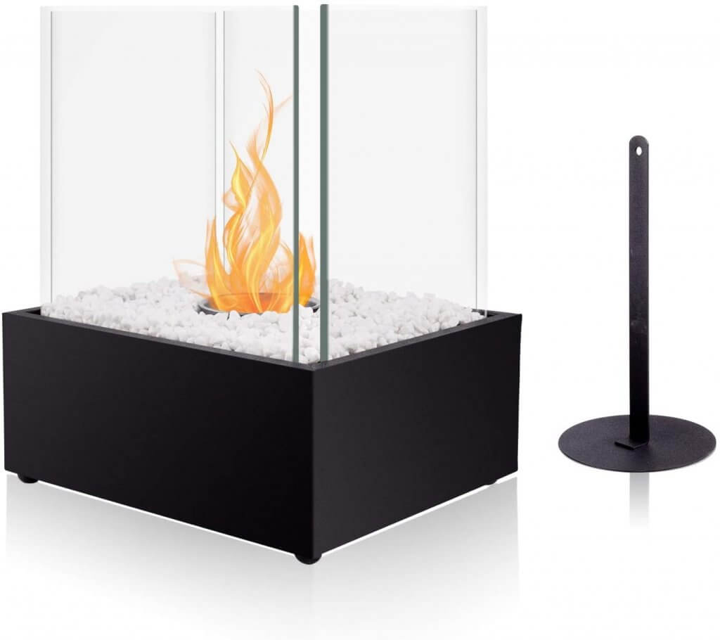 Brian and Dany tabletop bio ethanol fireplace