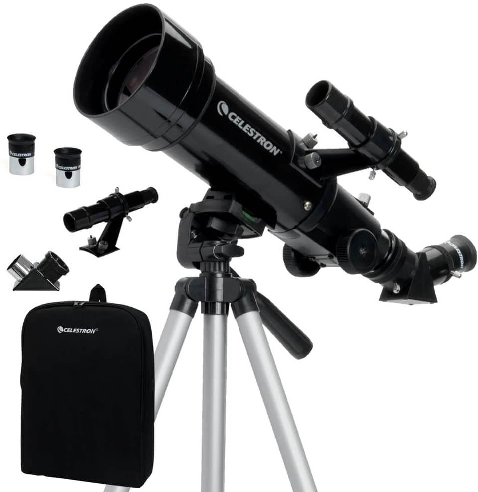 The Celestron travel scope is great value at under £100