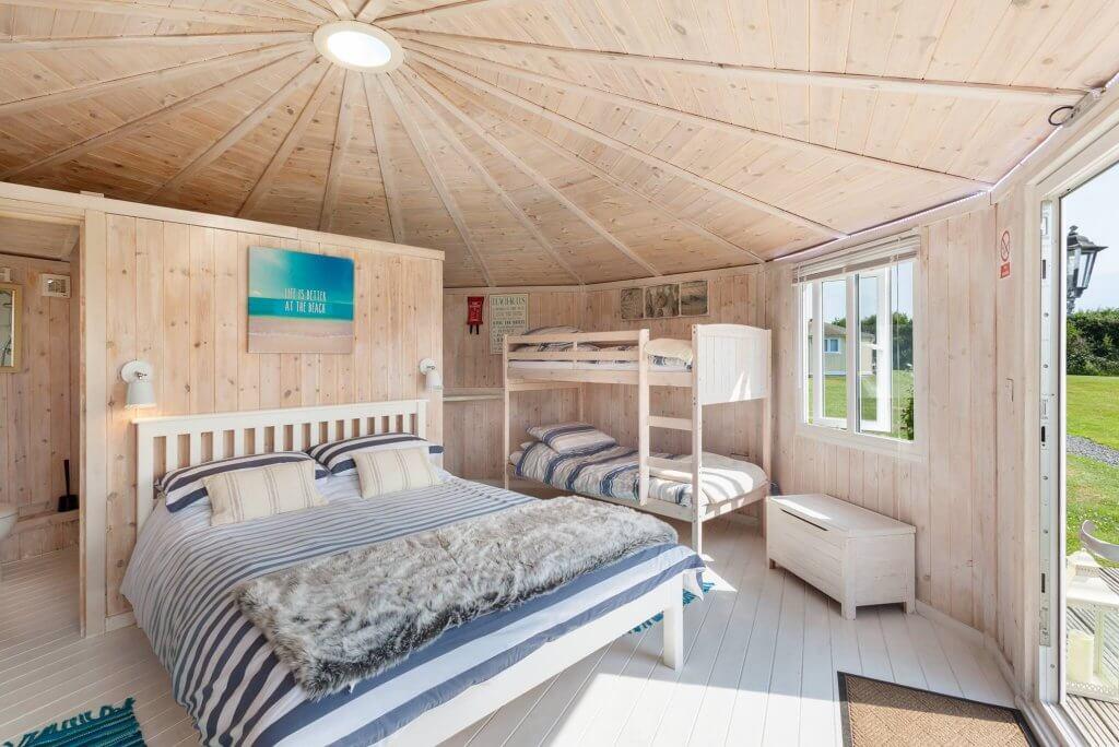 Coastal Glamping Cabins North Devon