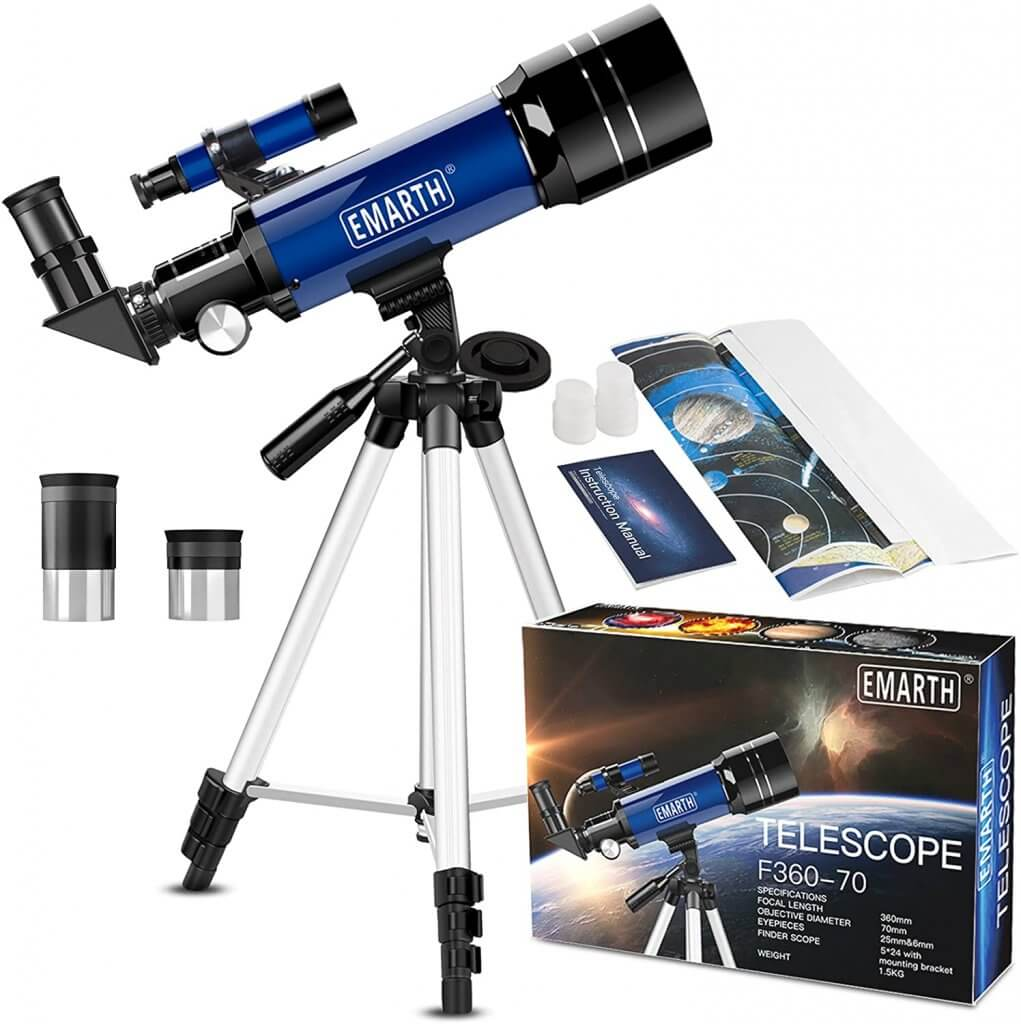 The EMARTH Telescope is one of the best telescopes for under £100