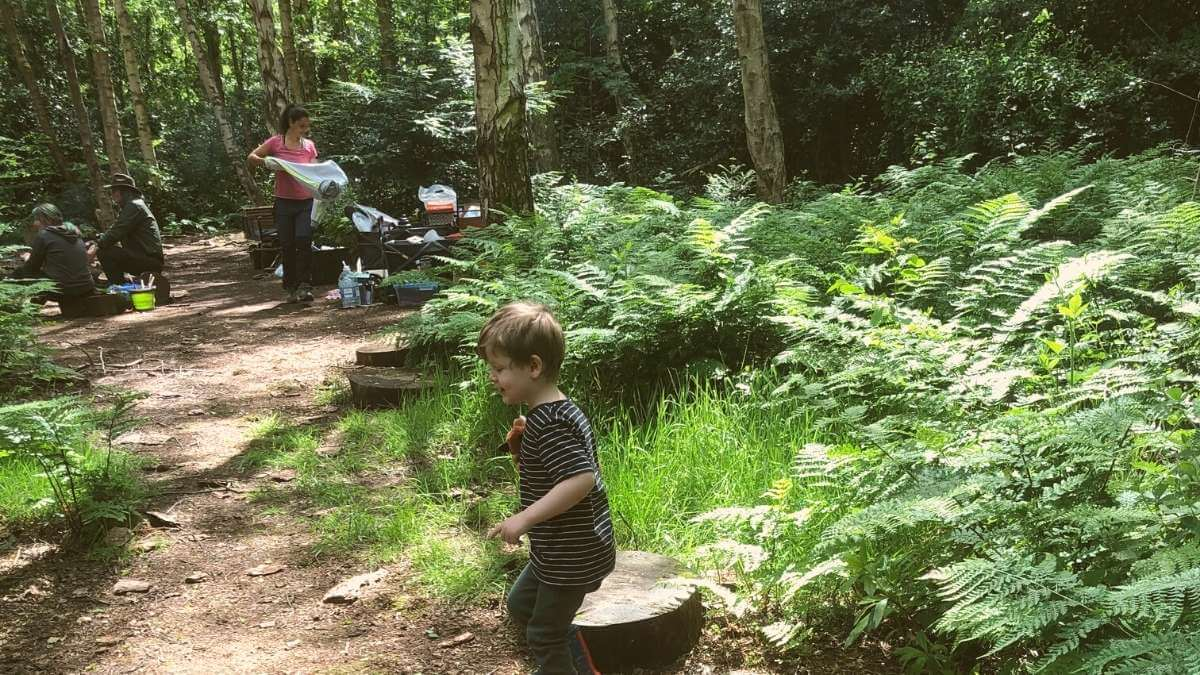 GROW-Wellbeing Family Forest Workshop Review