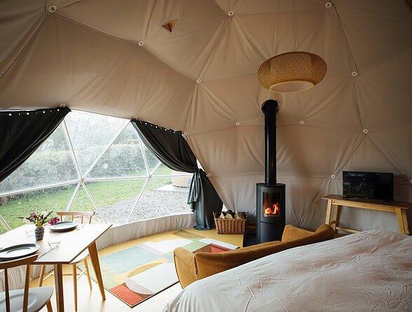 Glamping Dome Pembrokeshire