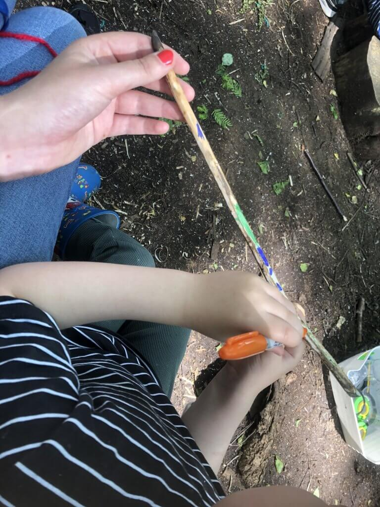 Journey Stick Craft