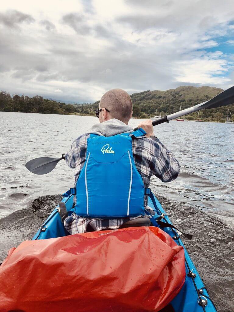 Kayaking Ambleside