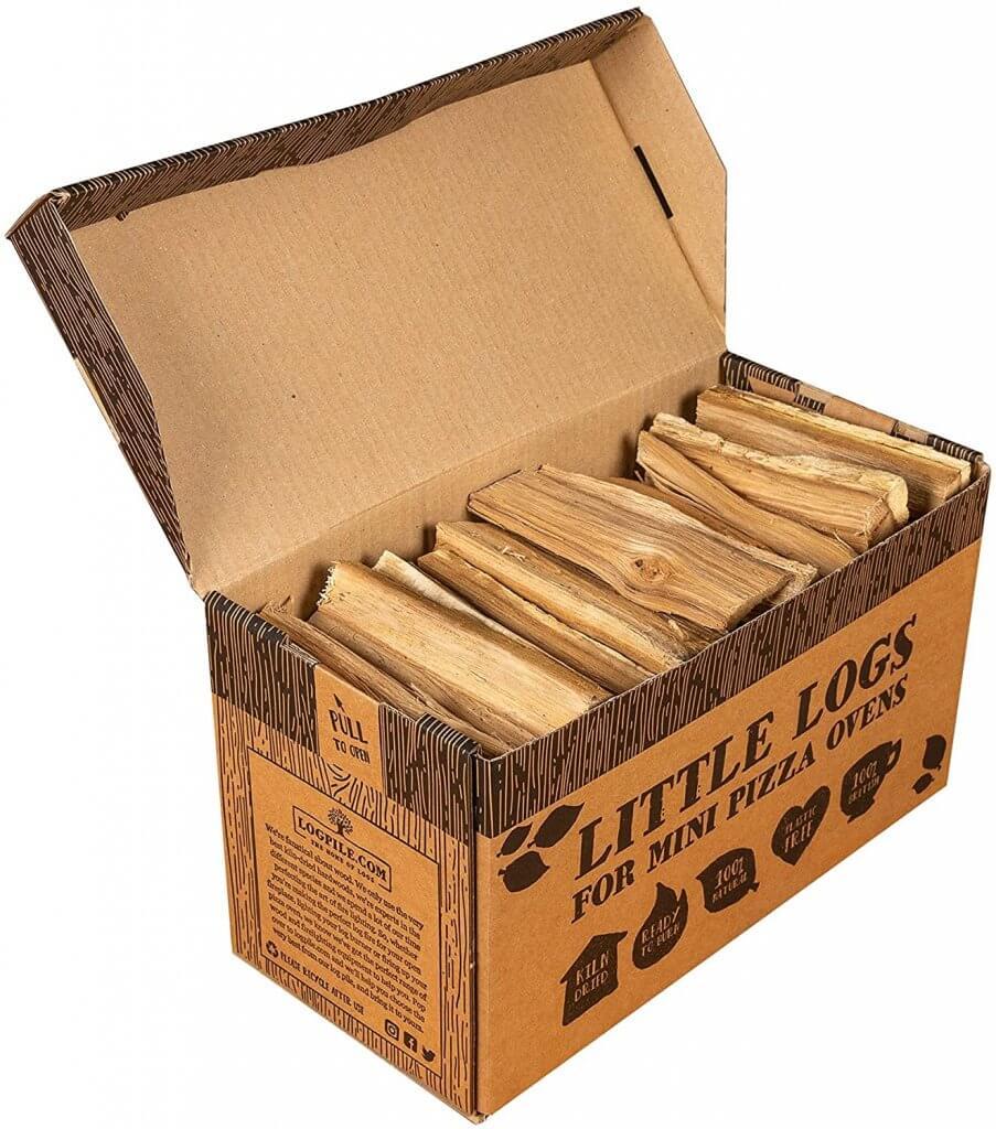 Little Logs for Pizza Ovens (Oak Hardwood)