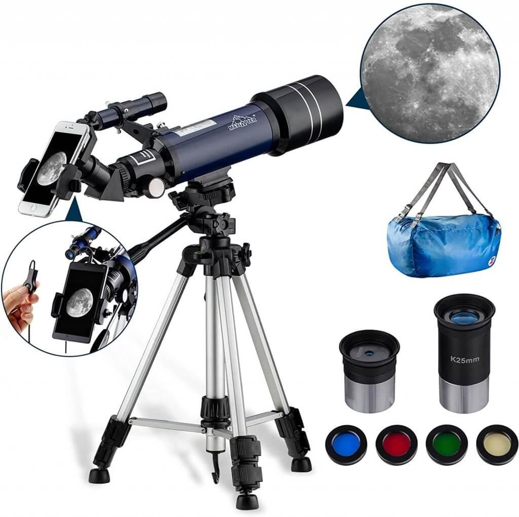 The MAXLAPTER telescope costs under £100
