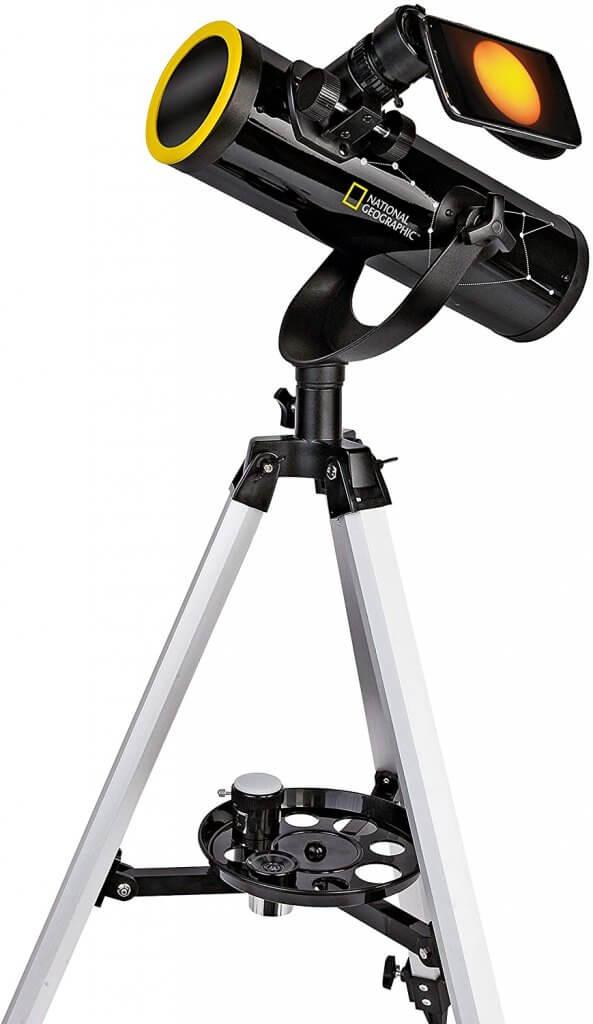 National Geographic 76:350 Telescope, Sun filter & Smartphone Adapter