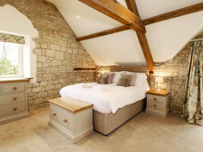 No 1 Curwens Dorset Bedroom