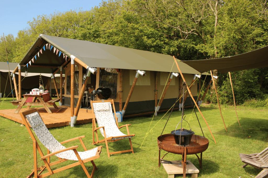 Safari Tent Coastal Glamping
