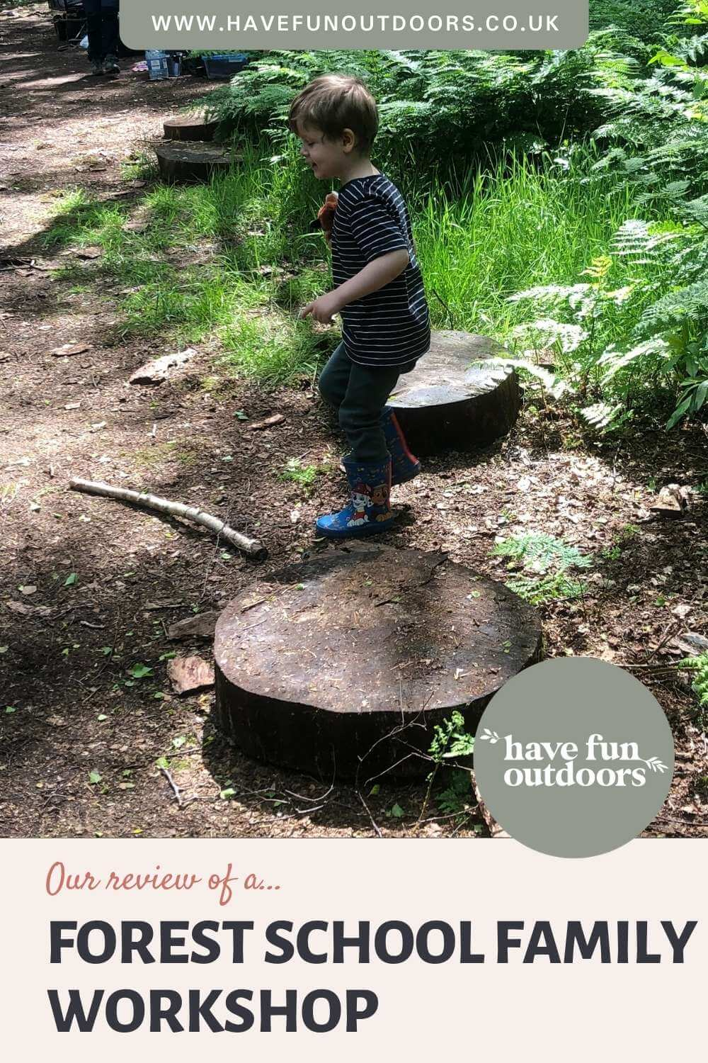 GROW-Wellbeing Wirral, Family Forest Workshop Review