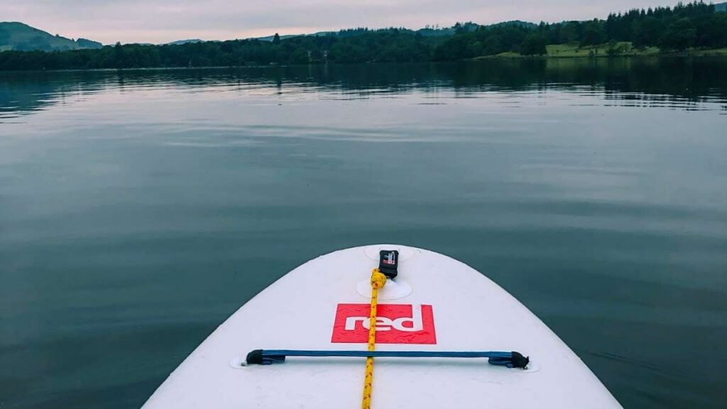 Paddle Boarding on Lake Windermere Board
