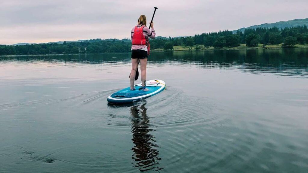 Paddle Boarding on Lake Windermere for beginners