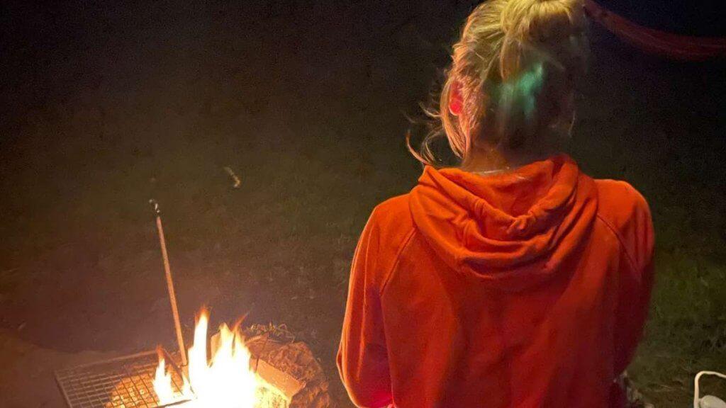 Eco Escapes Campsite Fire