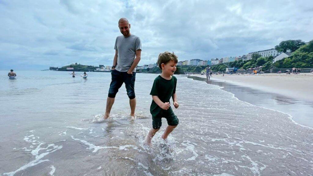 Tenby Harbour Beach