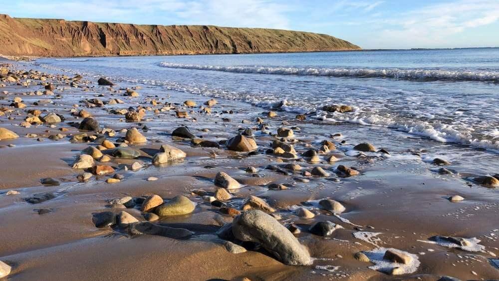 Hidden Yorkshire Beach at Filey