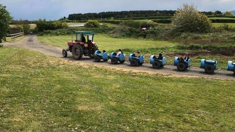 Church Farm Barrel Ride in Wirral is perfect for kids