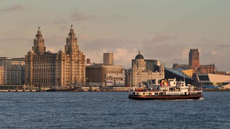 Ferry Across the Mersey with children