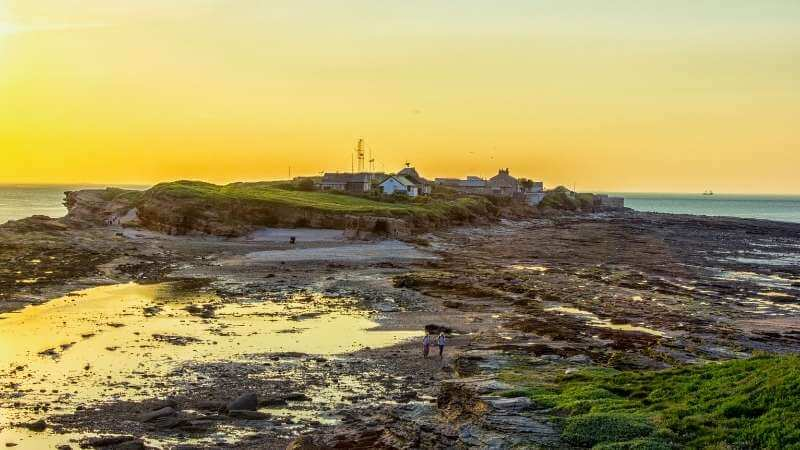 Hilbre Island is a fun place to visit in the Wirral with kids