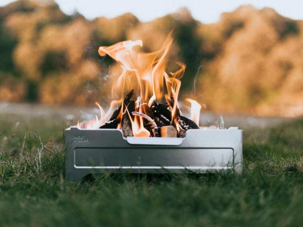 Wolf Grizzly Portable Fire Pit